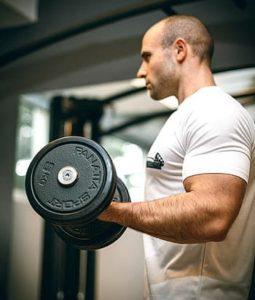 Gym man, man exercising, workout myths