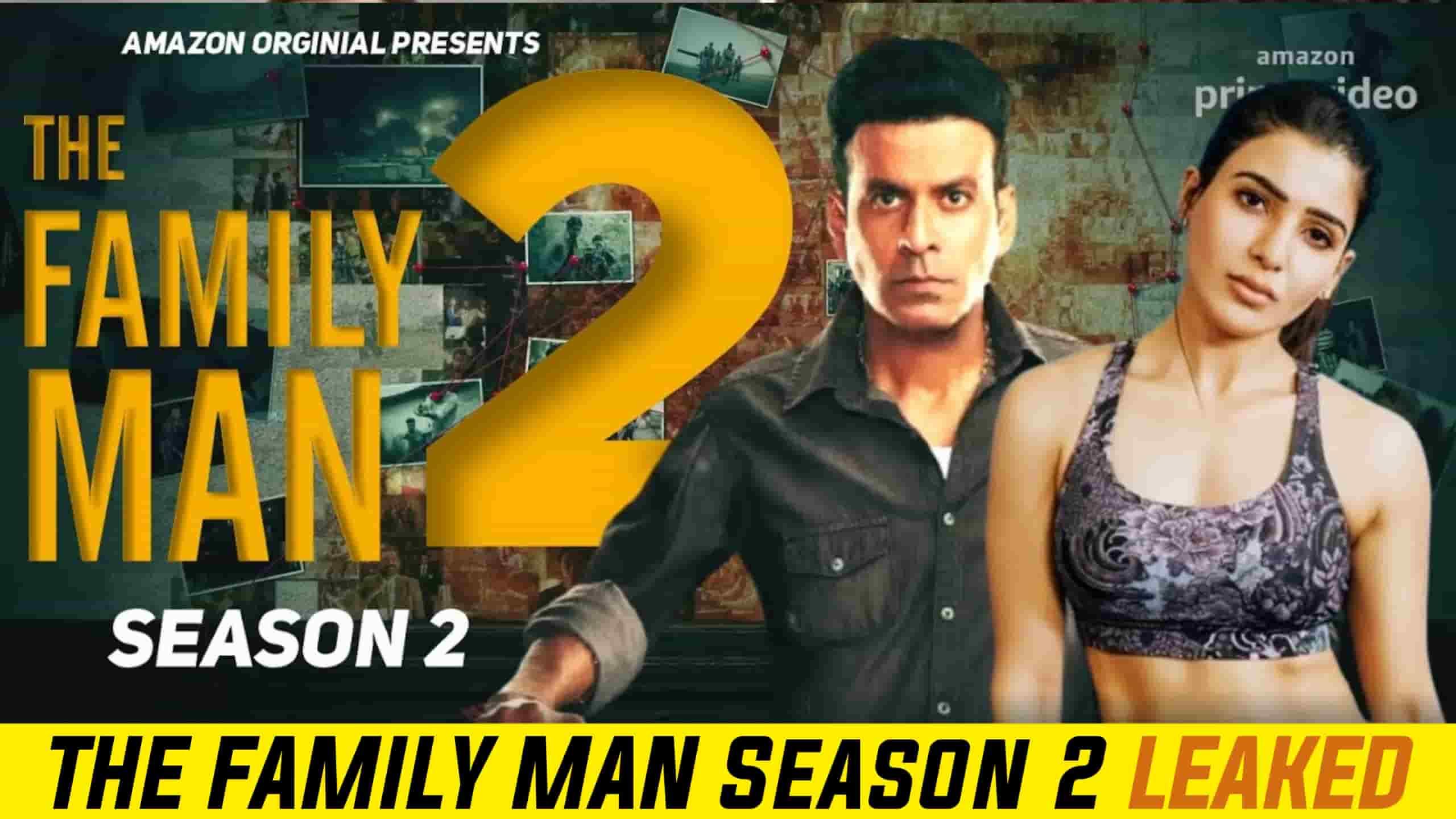 The Family Man Season 2 leaked by filmyzilla